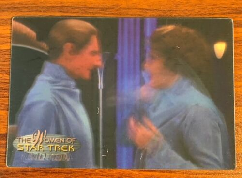 2000 Rittenhouse Women of Star Trek in Motion #19 Lwaxana Troi Free Shipping