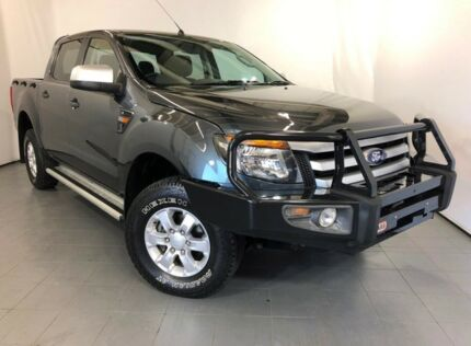 2014 Ford Ranger PX XLS Double Cab Grey 6 Speed Sports Automatic Utility Elizabeth Playford Area Preview