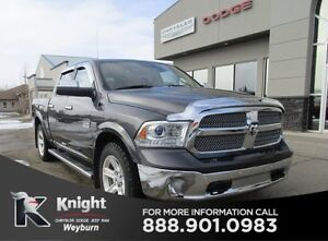 2015 Ram 1500 Crew Heated/Cooled Leather Remote Start NAV