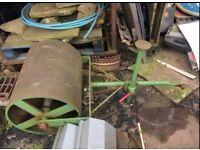 Large Steel Garden Roller
