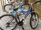 27 speed mountain bike- 21 inch