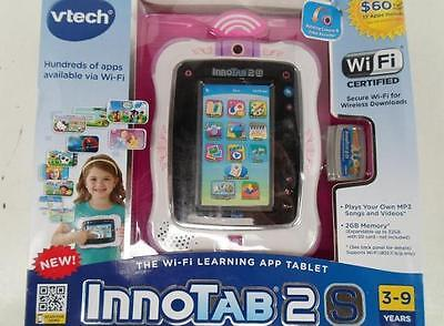 VTech 80-156850 InnoTab 2 Wi-Fi Learning App Tablet- Pink $99 value on Rummage