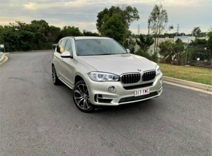 2014 BMW X5 F15 xDrive30d Silver 8 Speed Sports Automatic Wagon Darra Brisbane South West Preview