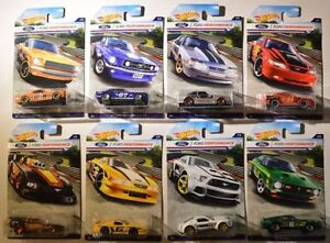 Hot Wheels Mustang Racing Ford Performance Set of 8 Cars Walmart
