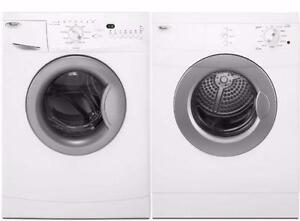 24'' White Washer/Dryer Combo, Front load [Whirlpool