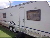Wilk caravan 2011 bunk beds not hobby tabbert fendht