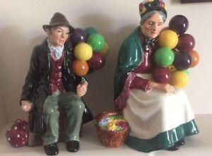 Vintage Royal Doulton Balloon Pair