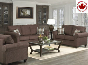 BRAND NEW CANADIAN CUSTOM MADE SOFA SET FOR ONLY $1499.99