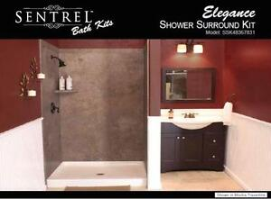 Want a Tile look without the crazy costs? Tub Surrounds 60x36''