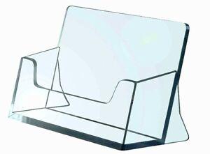 10 Stück Visitenkartenständer/ Visitenkartenhalter / Aufsteller / Büro / Werbung