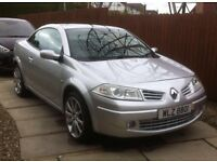 Renault Megane convertible Silver £2850,(MOT not due until March 2017) comes with service history
