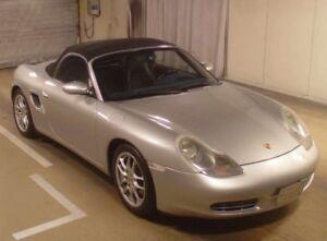 2001 Porsche Boxster  42 200 km
