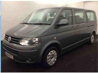 Volkswagen Transporter Shuttle 2.0TD 140PS 9 SEATER LWB Mini Bus DSG T30 SE