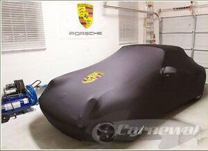 Porsche-993-Black-Car-Cover-Autoschutzdecke-Housse-bache-auto