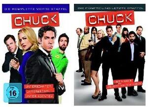 Chuck - Staffel/Season 4+5 * NEU OVP * DVD Set