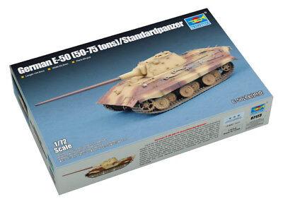 Trumpeter 9367123 Deutscher Panzerkampfwagen E-50 Standard 1:72 Modellbausatz