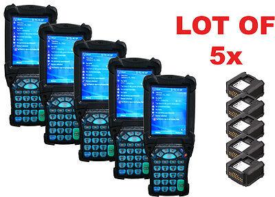 Lot 5 Symbol Motorola Mc9090-sk0hjafa6wr Wireless Barcode Scanner Qr Qrl Code
