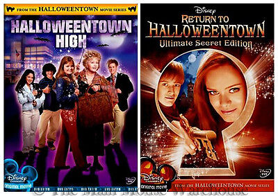 Disney Channel Halloween Movie Series Halloweentown Last Final Sequels 3 & 4 DVD (Disney Movies Halloween)