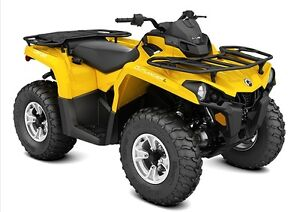 Used 2015 Can-Am OUTLANDER L 450 DPS
