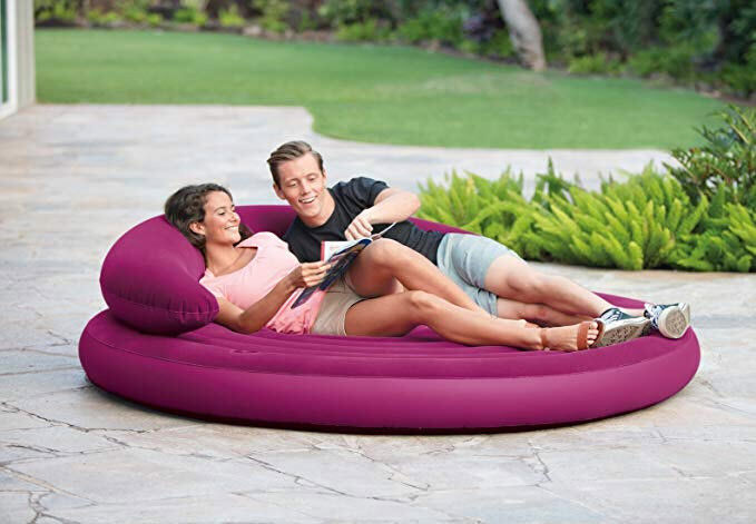 "Intex Ultra Daybed Inflatable Lounge, 75"" X 20"""