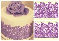 Edible Sugar Laces for cakes or cookies (baby shower, weddings)