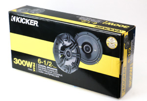 Kicker Speakers 2x 6.5 inch- $150 supplied and installed