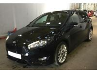 FORD FOCUS BLACK 1.5 TDCI 120 ST-LINE HATCHBACK DIESEL FROM £57 PER WEEK!