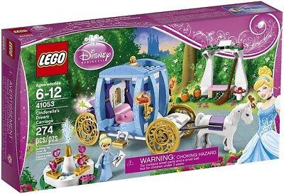 Lego Disney Princess 41053 CINDERELLA'S DREAM CARRIAGE horse pumpkin NEW NISB