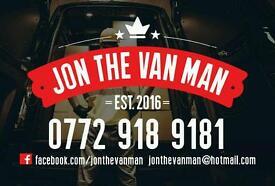 Jon The Van Man -Co Down Bangor N'ards Holywood Newtownards And Nationwide