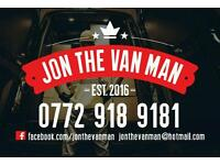 Jon The Van Man -Co Down Bangor N'ards Holywood Newtownards And Nationwide
