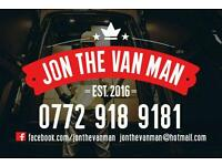 Jon The Van Man - Bangor Holywood Newtownards And Nationwide