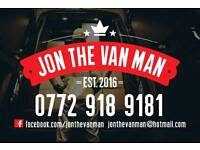 Jon The Van Man -Removals Bangor Holywood Newtownards Co Down