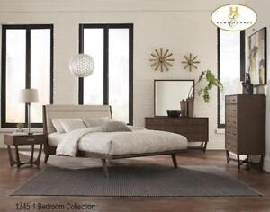 Upholstered 8 PC Queen Bedroom Set | Web exclusive Sale (MA231)