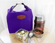 Insulated Lunch Bag Purple