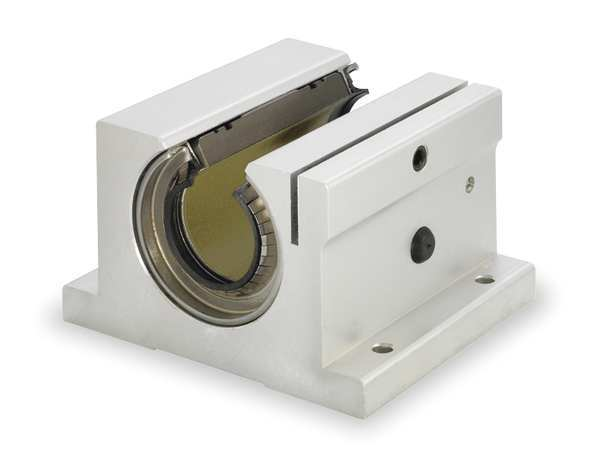 THOMSON FNYBUPBO08ALS Pillow Block,0.500 In Bore,1.690 In L