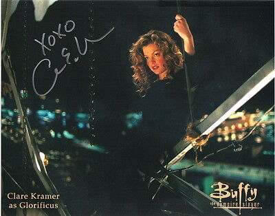 Clare Kramer as Glorificus on Buffy the Vampire Slayer Autographed Picture #3