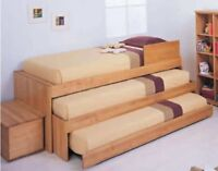 Carpenter needed to build a bunk bed