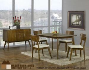 Mid-century Dining Set with 4 chairs (MA504)