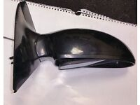 Ford Focus O/S Wing Mirror In Black (2003)