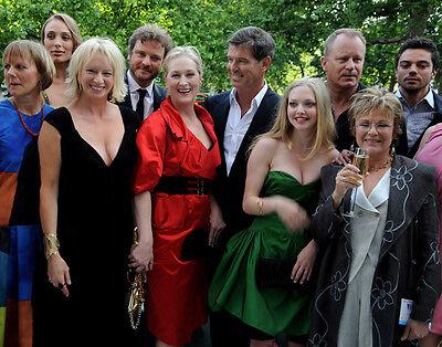 Amanda Seyfried, Julie Walters and Meryl Streep Mamma Mia! cast photo - H2771