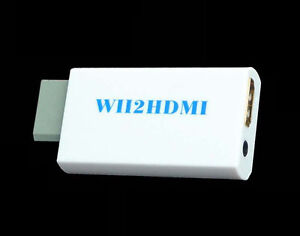 New Wii to HDMI Adapter (Bypass)
