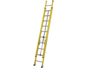 FEATHERLITE LADDER 24FT FIBERGLASS EXT GRADE 1A