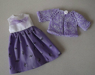 Neo Blythe Dress and Cardigan/ Blythe outfit/Blythe clothes