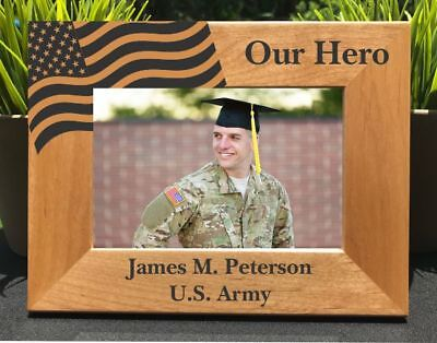 Personalized Engraved // Hero Military // Picture -