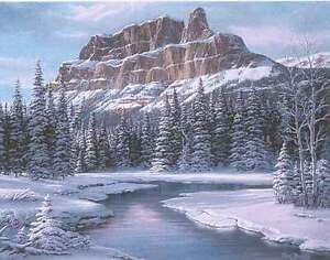 Castle Mountain by Fred Buchwitz