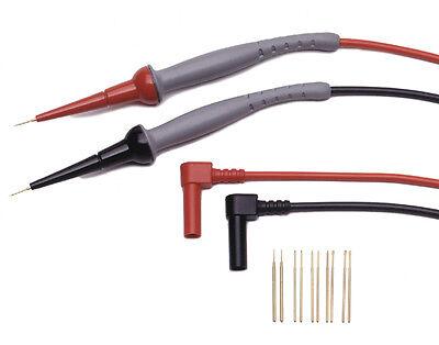 Probemaster 8150 Spring Loaded Micro Probe Test Tip W Rt Angle Banana Plug