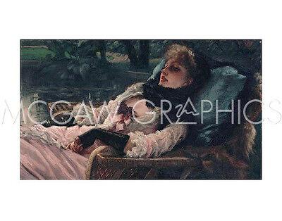 TISSOT JACQUES-JOSEPH-THE DREAMER, OF SUMMER EVENING,CA. 1881-ART 11