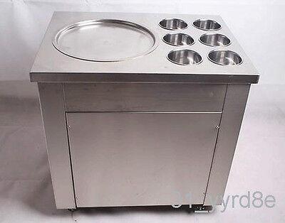 Fried Ice Cream Roll Machine Yogurt Fried Machine Flat Pan Ice Cream Machine