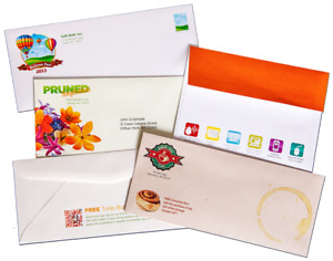 Full color printed #10 envelope with/without window for sale!