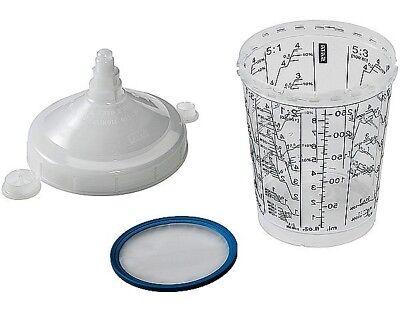 SATA RPS tazze monouso usa e getta da 600 ml con filtro 125 µm vernice 10 pezzi